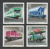 1979 Germany DDR Set Stamps - Rail vehicles from the GDR - MNH Set Stamps