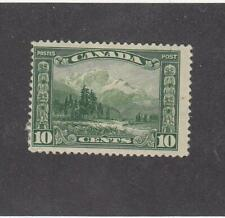 CANADA (MK2935) # 155  F-MH  10cts  1928 MOUNT HURD,BC. /GREEN CAT VALUE $12