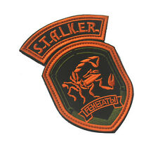 S.T.A.L.K.E.R. FEHEГATЫ RUSSIA RUS 3D TACTICAL ARMY MORALE EMBROIDERED PATCH #07