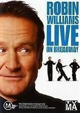 Robin Williams Live On Broadway Region 4 DVD EX Condition