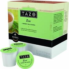 1 Case Keurig K-Cup Single Serv. Tazo Zen Tea 16 Cups/Case 10519