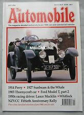 The Automobile magazine 07/1996 featuring Sunbeam, Ford, Perry