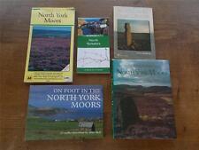 Collection 5 Books Walking Hiking North Yorkshire Moors Moorland Great Walks VGC