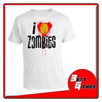 I love Zombies Zombie cutie T-SHIRT MAGLIETTA S - M - L - XL - XXL