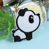 Garment Cartoon Pandas Craft Applique Embroidered Patch Iron-On