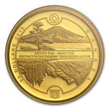 2015 Canada 1/4 oz Proof Gold $50 Unesco at Home & Abroad - SKU #87146