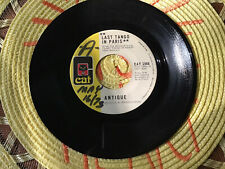 ANTIQUE 45..Last Tango In Paris../..ChauCha..vg..vinyl 45