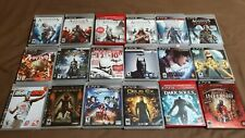 PS3 Playstation 3 Games Lot - Choose as Many as you Want and Save on Shipping!