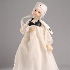 "Dollmore 17"" 1/4 Bjd long dress Msd - Mowaa Dress Set (Ivory)[A2]"
