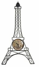France tour eiffel horloge murale creative fashion montres quartz moderne romantique,