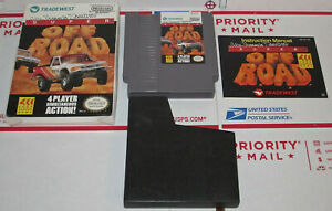Super Off Road Ivan 'Ironman' Stewart's Nintendo NES Complete in Box + Book Game
