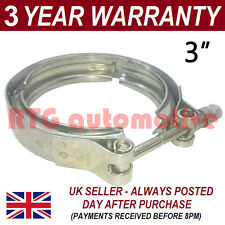 """V-BAND OUTER CLAMP STAINLESS STEEL EXHAUST TURBO HOSE RADIATOR 3"""" 76mm"""
