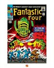 FANTASTIC FOUR ~ #49 COVER 16x20 COMIC ART POSTER Print Jack Kirby