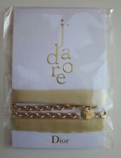 Dior J'adore Gold Ribbon Bracelet Necklace Belt Chain Brand New LE 2019 VIP GIFT