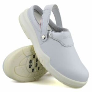 Mens Diadora Slip On Clogs Safety Steel Toe Cap Non Slip Work Sandals Shoes Size