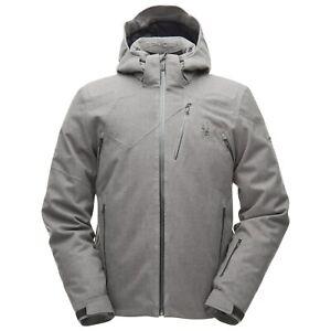 NEW!! Spyder Mens Cordin/Alyeska Goretex Jacket-XL-Titanium