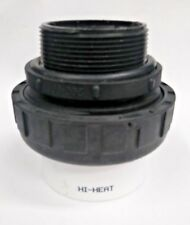 """Praher 200-906 2"""" Mpt x 2"""" Slip High Temperature Pump Union, O-Rings Included"""