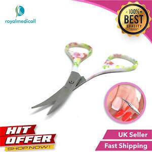 Classic Super Sharp Curved Edge Cuticle Nail Scissor Manicure Pedicure Scissor