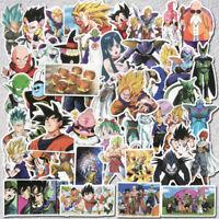 50Pcs Vinyl Anime Dragon Ball Stickers Goku Sticker For Skateboard Laptop Decals