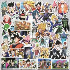 50Pcs Vinyl Anime Dragon Ball Stickers Goku Sticker For Laptop Phone Car Decals