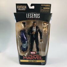 "Marvel Legends BAF Series 6"" Nick Fury Captain Marvel See Pics"