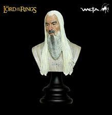 Lord Of Das Rings Saruman Das White Resin-Bust Sideshow