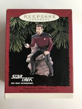 Hallmark Keepsake Ornament - Star Trek Commander Riker - 1996 - Mint in Box!