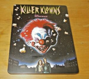 Killer Klowns from outer space limited edition steelbook Reg B  VGC Arrow video