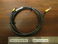 12AWG Black Ground Wire 5-Foot For Ion Pump Controller