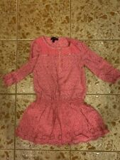 Girls Juicy Couture dress size 8 pink with flowers good condition fancy