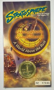 Stratosphere Hotel/Casino Las Vegas Grand Opening 1996 Commemorative $1 Token