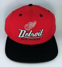 Detroit Red Wings NHL Vintage Logo SnapBack Hat
