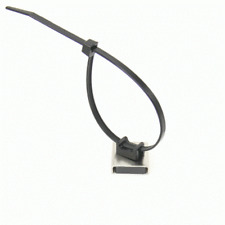 More details for magnetic cable tie base mounts 26 x 23 x 6.3mm thick 6.1kg pull, packs 1, 5 & 10