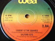 "SALFORD JETS - LOOKIN' AT THE SQUARES   7"" VINYL"