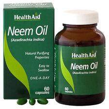 Health Aid Neem Oil 60 Capsules