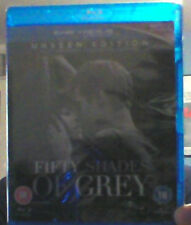 Fifty Shades Of Grey Blu Ray Unseen Edition NEW