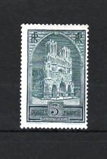 "FRANCE STAMP TIMBRE N° 259 b "" CATHEDRALE REIMS 3F TYPE III "" NEUF xx TB  R409"