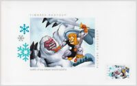 = COMICS AURIC GREAT WHITE NORTH Card w/Postage stamp Canada 2018 p18-06t25