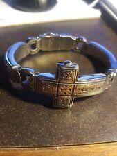 bracelet steel cross