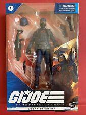 Hasbro GI Joe Classified Cobra Infantry New Sealed 6 inch Action Figure - F2718