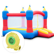 Bounce House Magic Castle Inflatable Bouncer Kids Jumper Slide With 480W Blower