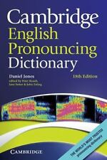Cambridge English Pronouncing Dictionary by Daniel Jones (2011, Paperback)
