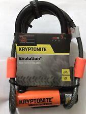 Kryptonite Evolution Mini-7 Flex cable & Frame U Bracket - Sold Secure Gold