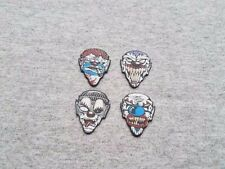4 Psycho Clowns Hot PICKS USA Standard Guitar Picks