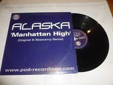 """ALASKA - Manhattan High - UK 2-track 12"""" Vinyl Single"""