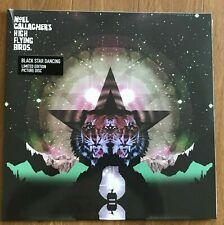 "Noel Gallagher's High Flying Birds 12"" Black Star Dancing Picture Disc Vinyl NEW"