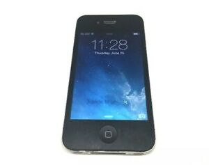Apple iPhone 4 - 8GB - Black (Telus Locked) A1332 - Good Condition