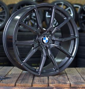 19 Zoll V-Vheels V1 Felgen 5x120 grau für BMW M Performance Paket F10 F11 F30