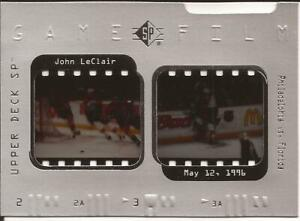 1996-97 SP Game Film GF 17 John LeClair