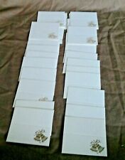 WEDDING RECEPTION PLACE CARDS (Silver Bell Design) x 28